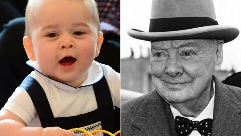 Selon le prince Harry, baby George ressemble à Winston Churchill