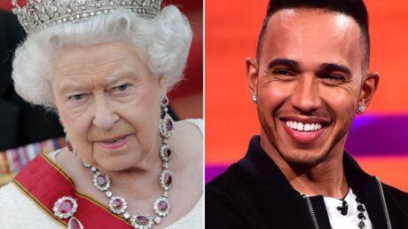 Lors d'un repas, la reine Elizabeth II reprend Lewis Hamilton pour ses mauvaises manières