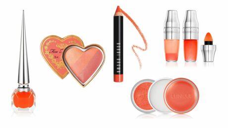 Make-up: orange, la couleur phare de l'été 2016