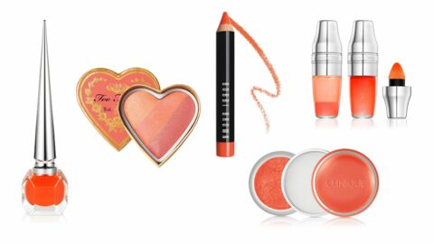 Make-up : orange, la couleur phare de l'été 2016