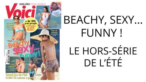 Jeux, tests, story… Amusez-vous cet été avec notre hors-série Beachy, sexy, funny!