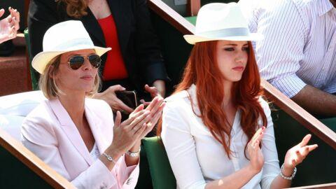 PHOTOS Les people se montrent au tournoi de Roland-Garros