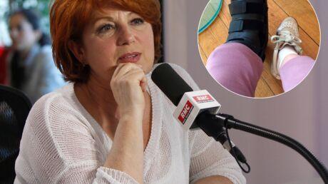 Véronique Genest s'est blessée après une chute dans l'émission de Cyril Hanouna