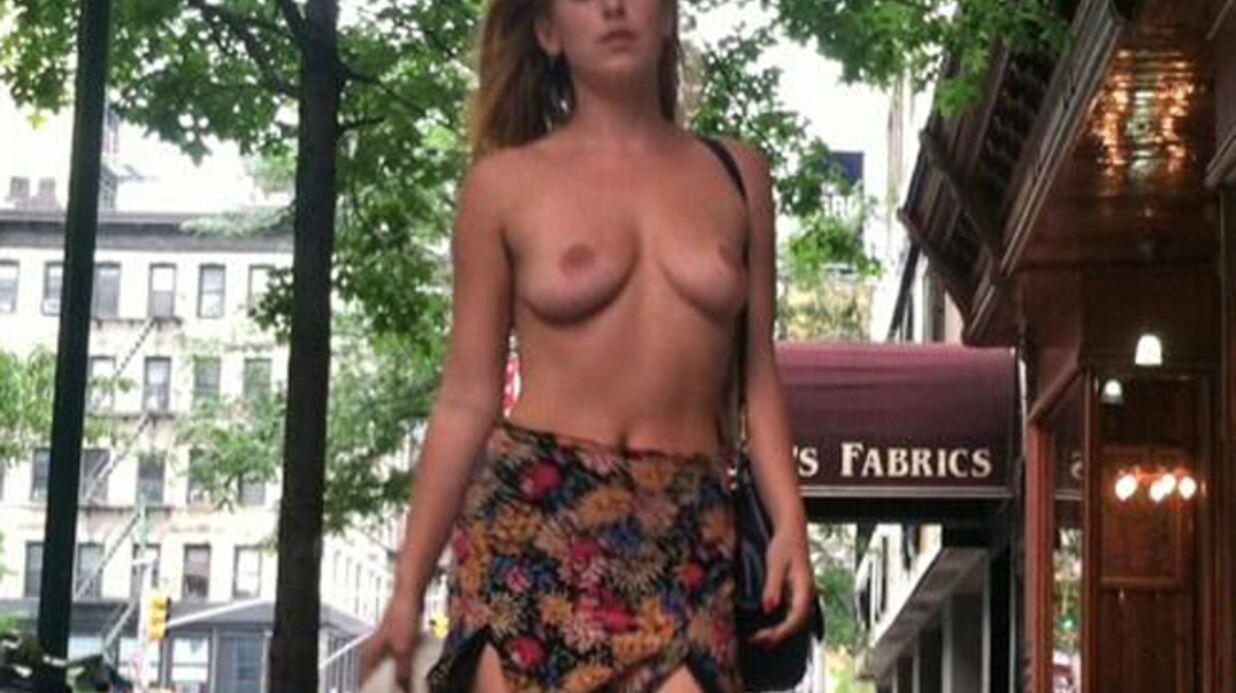PHOTOS Scout Willis seins nus dans la rue pour protester contre la censure d'Instagram