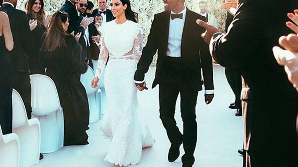 Kanye West: un invité raconte ses délires mégalo lors du mariage avec Kim K