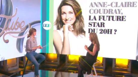 PHOTOS Anne-Claire Coudray, enceinte et radieuse, raconte son arrivée au JT de TF1