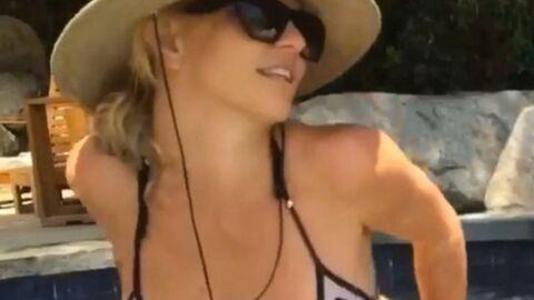 VIDEO Britney Spears: sa danse très sexy en tout petit bikini dans son jacuzzi
