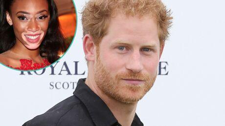 Prince Harry: sa grimace magique en arrière-plan de la photo du top Winnie Harlow