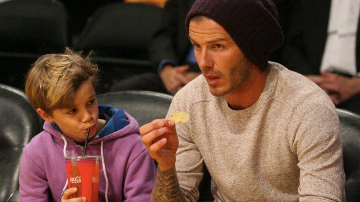 PHOTOS Seal et David Beckham passent du temps avec leurs enfants