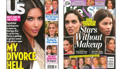 En direct des US: Megan Fox enceinte, Kim Kardashian voleuse d'ex, Michelle Williams amoureuse…