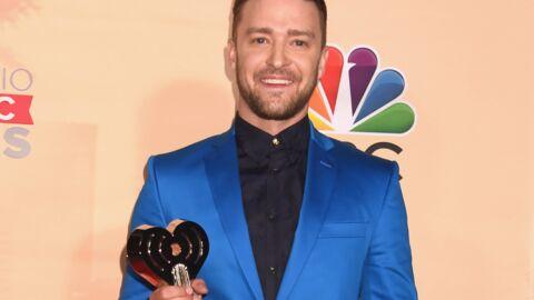 Justin Timberlake: sa touchante et drôle déclaration de futur papa en recevant un prix