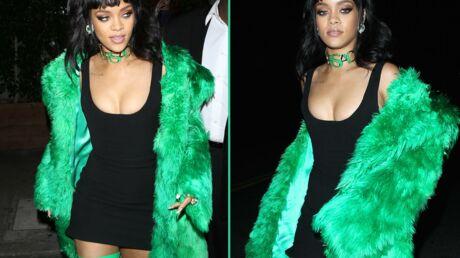 PHOTOS Rihanna ose un look aussi étrange que super sexy!