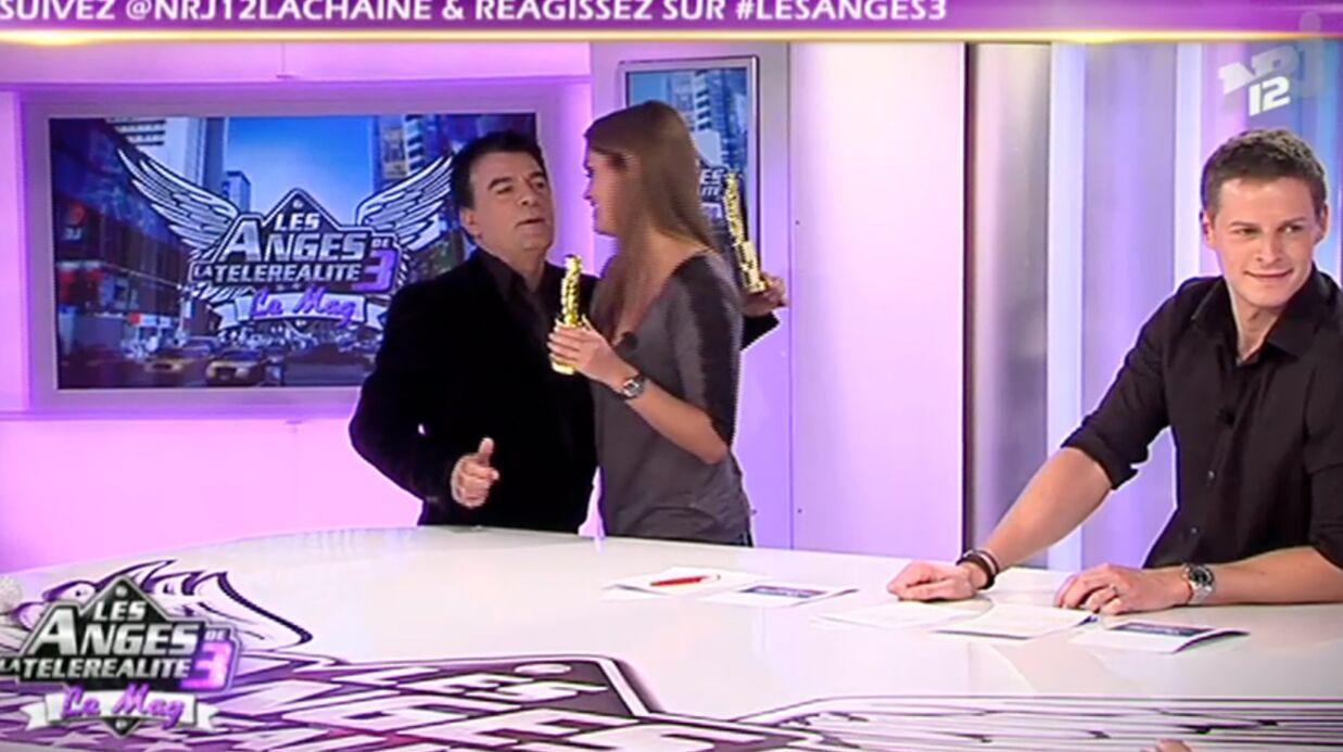 VIDEO: Un chroniqueur embrasse Matthieu Delormeau sur la bouche