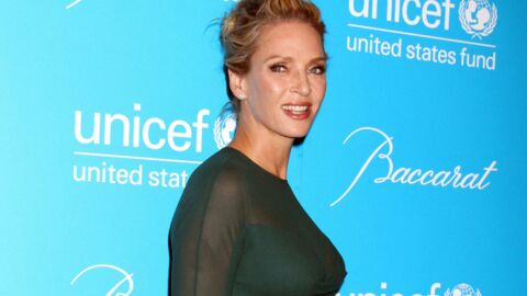 PHOTOS Uma Thurman spectaculaire à un gala de l'Unicef