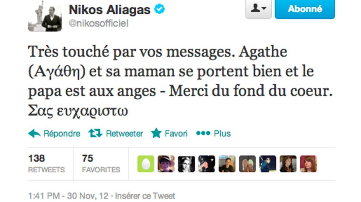 Nikos Aliagas papa d'une petite fille qui s'appelle…