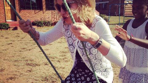 PHOTOS Madonna heureuse engagée pour les enfants du Malawi