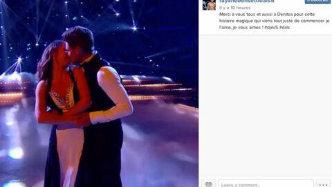 VIDEO Le baiser fougueux de Rayane Bensetti et Denitsa, gagnants de DALS