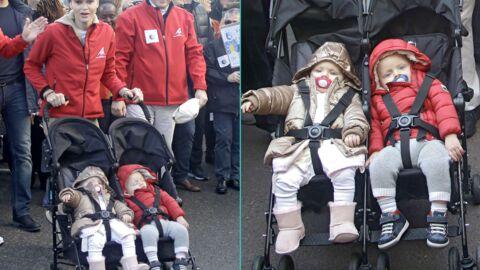 PHOTOS Albert et Charlène de Monaco marchent pour le climat avec leurs adorables jumeaux
