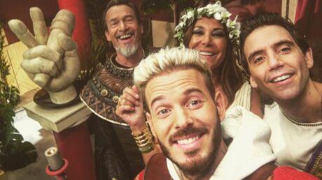 PHOTOS The Voice 6: Nikos Aliagas et les coachs se transforment en Romains pour la bande-annonce
