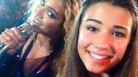 Beyoncé s'incruste sur une photo de fan
