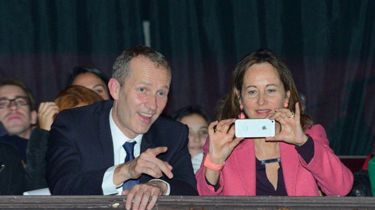 DIAPO Ségolène Royal première fan de sa «belle-fille» Joyce Jonathan