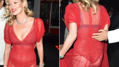 DIAPO Kate Moss et Naomi Campbell très sexy à l'anniversaire de Mario Testino