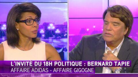 Audrey Pulvar VS Bernard Tapie: des noms d'oiseaux pendant la pub