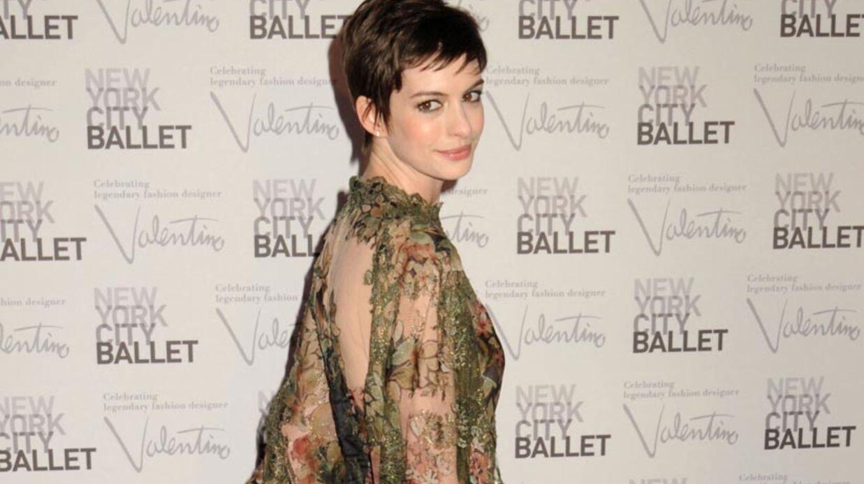 Anne Hathaway: elle s'est mariée hier.
