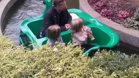 PHOTOS Brad Pitt emmène ses jumeaux dans un parc d'attractions
