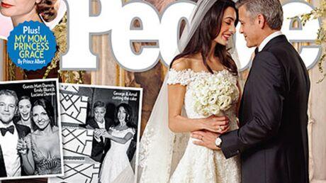 Tous les détails de l'incroyable mariage à 11 millions d'euros de George Clooney et Amal Alamuddin