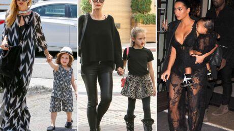 DIAPO Kim Kardashian, Heidi Klum… Ces stars qui utilisent leurs enfants comme accessoires