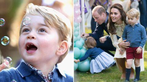 PHOTOS Kate Middleton, William, George et Charlotte à une fête pour enfants: ils sont TROP MIGNONS!