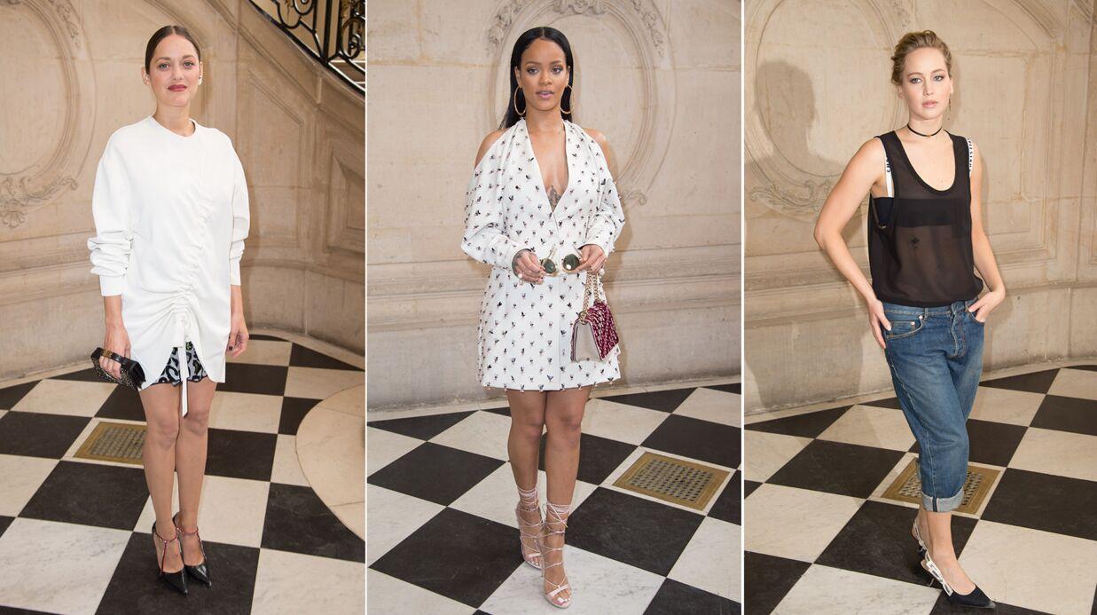 PHOTOS Fashion Week: Marion Cotillard, Rihanna et Jennifer Lawrence très chics pour Dior