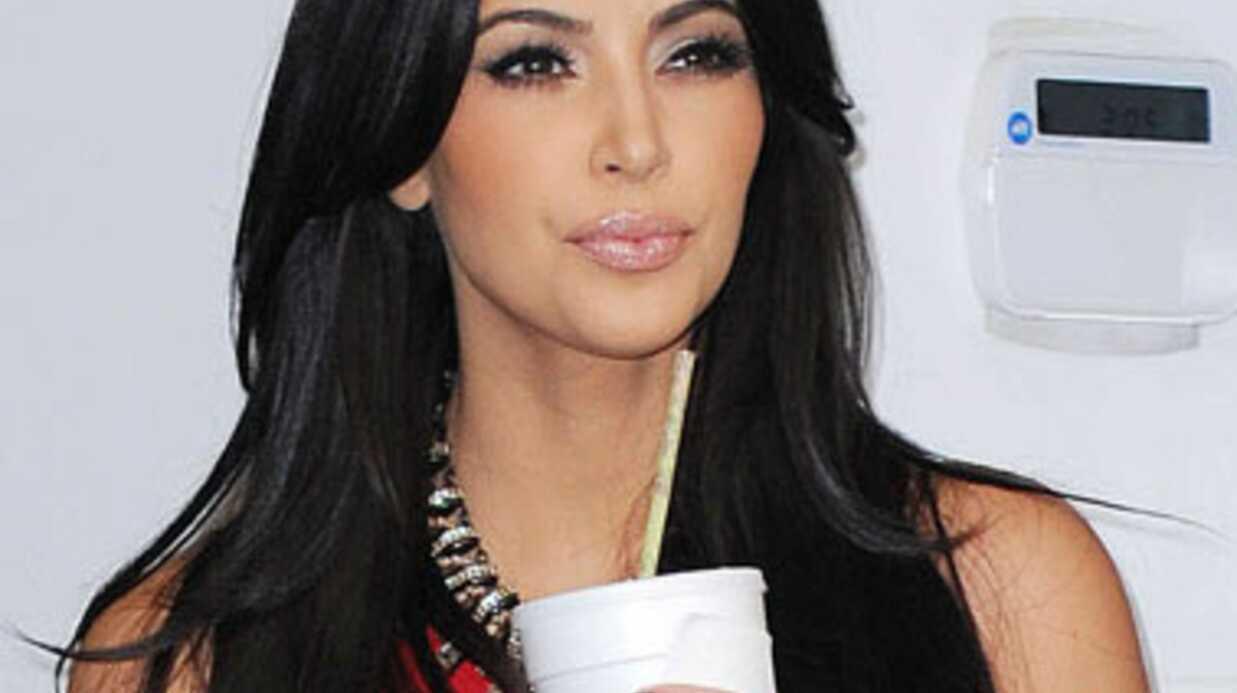 Kim Kardashian veut un bébé rapidement