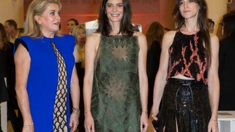 DIAPO Charlotte Gainsbourg, Catherine Deneuve et Chiara Mastroianni glamour à la Mostra