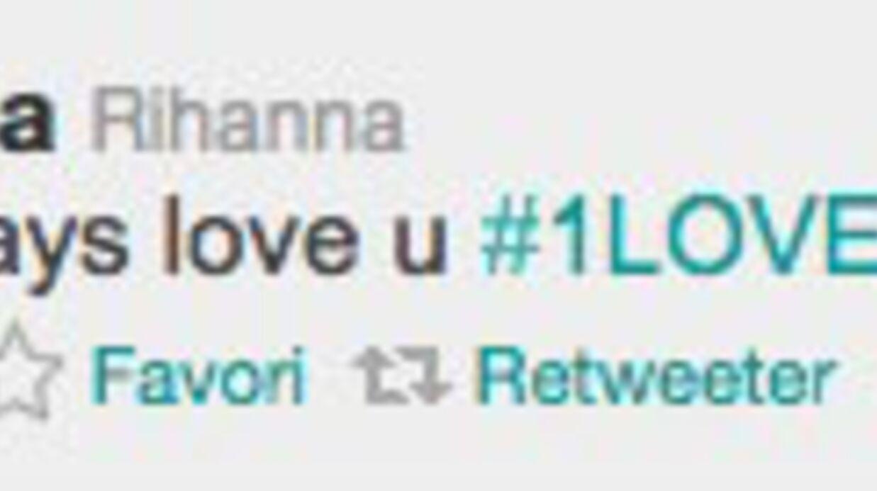 L'étrange déclaration d'amour de Rihanna, sur Twitter