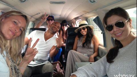 PHOTOS Eva Longoria s'envole pour un Nouvel An aux Bahamas