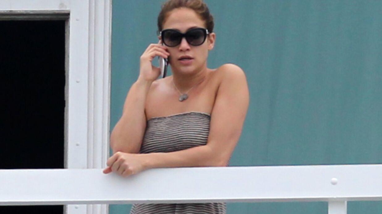 PHOTOS Jennifer Lopez en pleurs