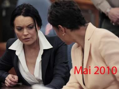 Lesplus beaux looks de Lindsay Lohan devant la justice