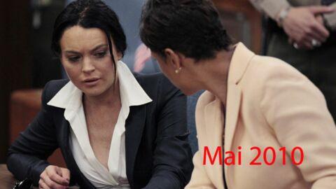 DIAPO Les plus beaux looks de Lindsay Lohan devant la justice