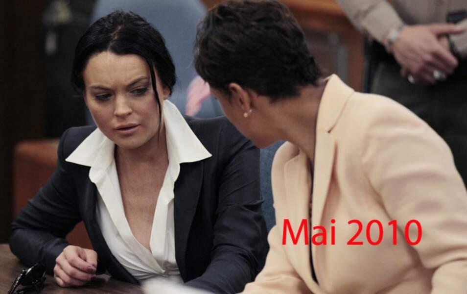 Lindsay Lohan mai 2010