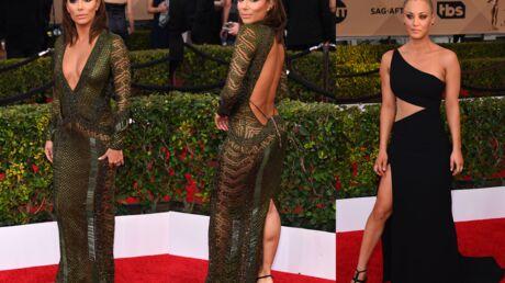 DIAPO SAG Awards 2016: Eva Longoria et Kaley Cuoco très sexy sur le tapis rouge