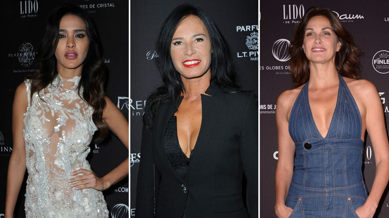PHOTOS Globes de cristal: Leila Ben Khalifa sexy, Nathalie Marquay et Helena Noguerra décolletées