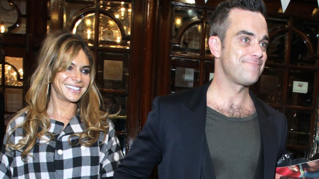 Robbie Williams (enfin) en lune de miel avec Ayda Field ?