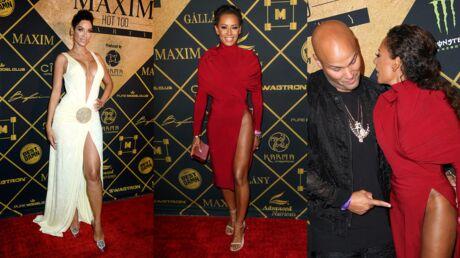 PHOTOS Le maxi décolleté de l'ex-femme d'Eddie Murphy, Mel B sans culotte à la soirée Maxim hot 100