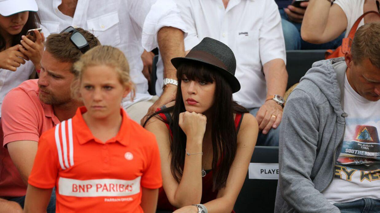 PHOTOS Nolwenn Leroy première fan d'Arnaud Clément à Roland-Garros