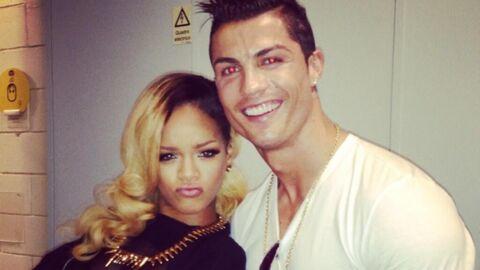 PHOTOS Rihanna fait sa plus belle duckface pour Cristiano Ronaldo