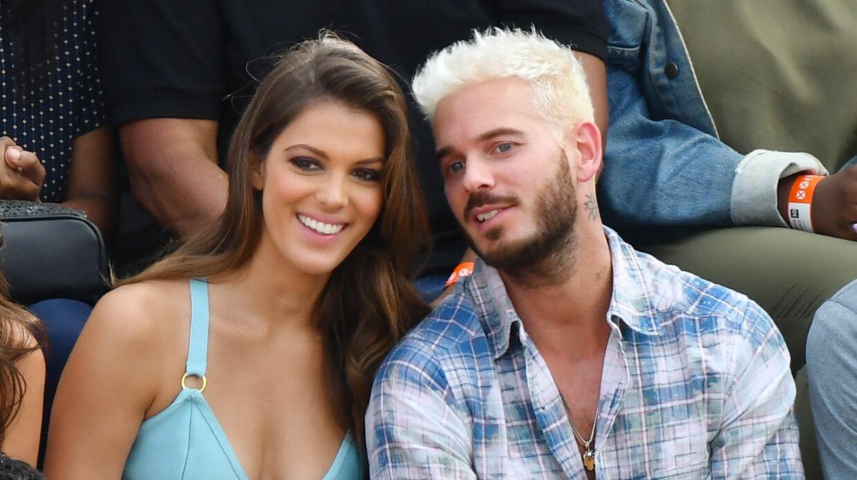 PHOTOS Iris Mittenaere et M Pokora très complices à Roland-Garros