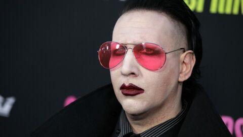 Marilyn Manson, nouveau mannequin pour Saint Laurent