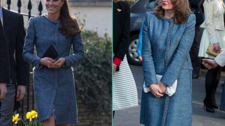 PHOTOS Kate Middleton croise une invitée avec le même manteau à un mariage
